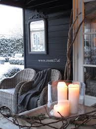 room seventeen winter barn outdoor living pinterest black