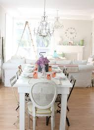 Narrow Bistro Table Long Narrow Dining Table Dining Room Eclectic With Antique Linen