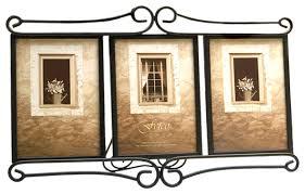 amazon com fetco home décor alton triple frame bronze luxury