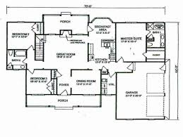 awesome small 4 bedroom floor plans and car garage gallery picture