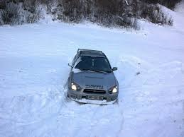 subaru rally snow subaru impreza in the snow by cmacsti on deviantart