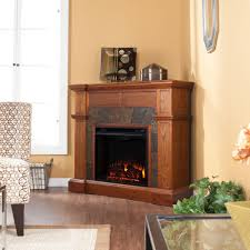 warm house oslo 35 in wall mount electric fireplace with color
