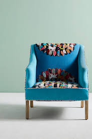 Turquoise Chair Zaylie Chair Anthropologie