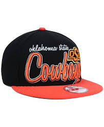 Chicago Flag Hats Lyst Ktz Oklahoma State Cowboys Team Script 9fifty Snapback Cap