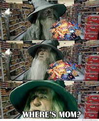gandalf in the grocery store weknowmemes