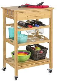 kitchen island wine rack rolling bamboo kitchen island storage bakers cart wine rack w