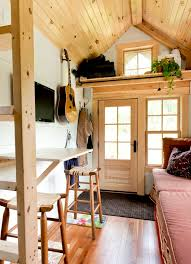 tiny house tour living tiny ethan u0027s tiny vermont abode home tour and then we