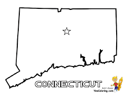 Connecticut State Map by Connecticut State Coloring Page Connecticut Coloring P