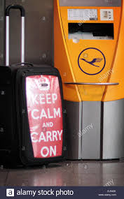 Carry On Meme - a suitcase styled in the keep calm and carry on meme at a