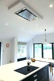 island extractor fans for kitchens kitchen island ceiling extractor cooker in kitchen island downdraft