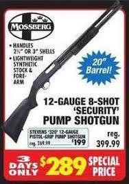 big 5 sporting goods black friday mossberg 12 gauge 8 shot u0026 stevens 320 12 gauge security pump