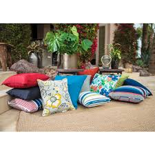 Home Decorators Outdoor Pillows by Coral Coast Classic 17 X 17 In Outdoor Furniture Seat Pad