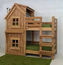 Playhouse Bunk Bed Imagine That Playhouses The Rustic Bunk Bed