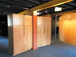 unfinished basement storage ideas best house design best cheap