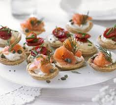 mini canape savoury parmesan tartlets recipe food