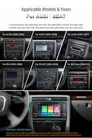 audi a4 2004 radio 7 2 din 8 android 6 0 car radio dvd player dab gps wifi 4g