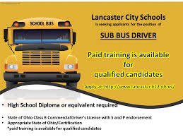 Seeking Sub Lcs Is Seeking Applicants For The Position Of Sub Driver Mt