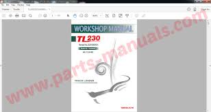 takeuchi parts u0026 service manual 2015