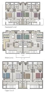 floor plans for basements 5 bedroom duplex w basement the cottages of boone
