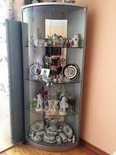curio cabinet with light lighted curio cabinet ebay
