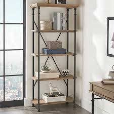 Crest Office Furniture Better Homes And Gardens River Crest 5 Shelf Bookcase Walmart Com