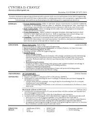 Chemical Engineer Resume Examples by Dynamic Mechanical Engineer Resume Sample Professional Vinodomia