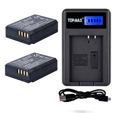 top max lp e10 battery rapid usb charger for canon amazon co
