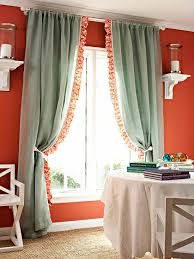 Curtain Trim Ideas 4 Ways To Personalize Curtain Panels Diy Ideas For Window Treatments