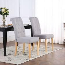 Dining Chairs Grey Grey Dining Chairs Dining Room Chairs Ebay