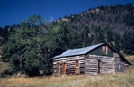 The Round Barn On Clear Creek Golden History Park Home To 19th Century Cabins One Room