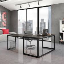 Contemporary Executive Office Desk Office Desk Modular Office Furniture Modern White Desk Glass