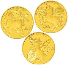 new year gold coins astrological series 2014 year of the gold coins