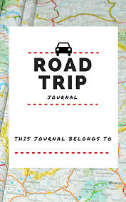 printable vacation journal pages 6 best images of printable trip journal free printable road trip