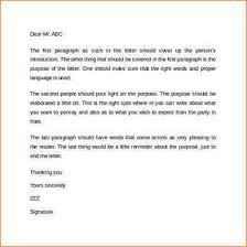 indented or semi block business letterformat for business letter