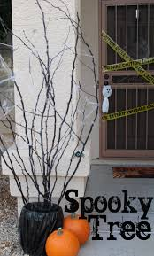 Halloween Tree Craft by Haunted Barn On Pinterest House Props Houses And Scary Dolls