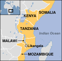 africa map malawi news africa refugees trek to escape somalia