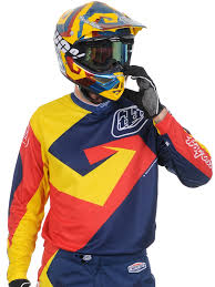 troy lee motocross helmets troy lee designs navy red 2015 gp vega mx jersey troy lee