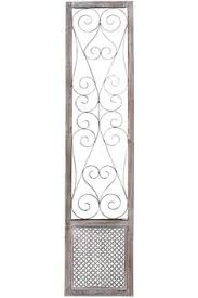 Home Decorators Art This Elegant Design Of The Baroness Metal Wall Art Suggests That