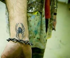 16 tony spider tattoos on wrist