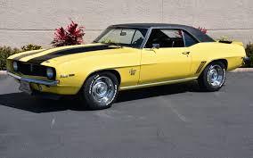 1969 daytona yellow chevy camaro for sale
