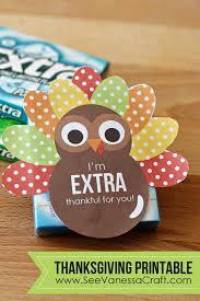 thanksgiving thankful turkey printable gift tag special
