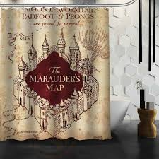 Harry Potter Map Compare Prices On Harry Potter Map Shower Curtain Online Shopping