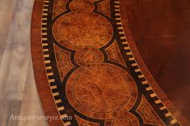 60 Inch Round Rug Transitional 60 Inch Round Mahogany Dining Table Inlaid