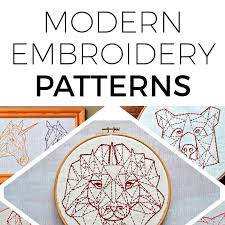 pumora contemporary embroidery tutorials and patterns