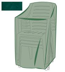 green chair covers weather cover for stacking chairs patio plow hearth