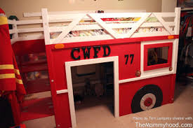 Fire Engine Bed Diy Firetruck Bunk Bed Built By Two Grandpas