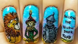 nail art designs inspired by movies that are worth a try