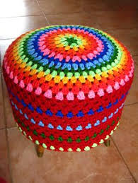 Crochet Ottoman Pattern Revisiting The Mandala Free Pattern Patterns And Crochet