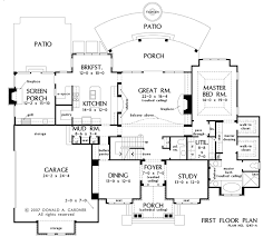 Donald A Gardner Floor Plans Home Plan The Kingsbridge By Donald A Gardner Architects