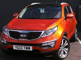 suv kia 2013 2013 13 kia sportage 1 7 crdi isg 3 5dr in orange youtube